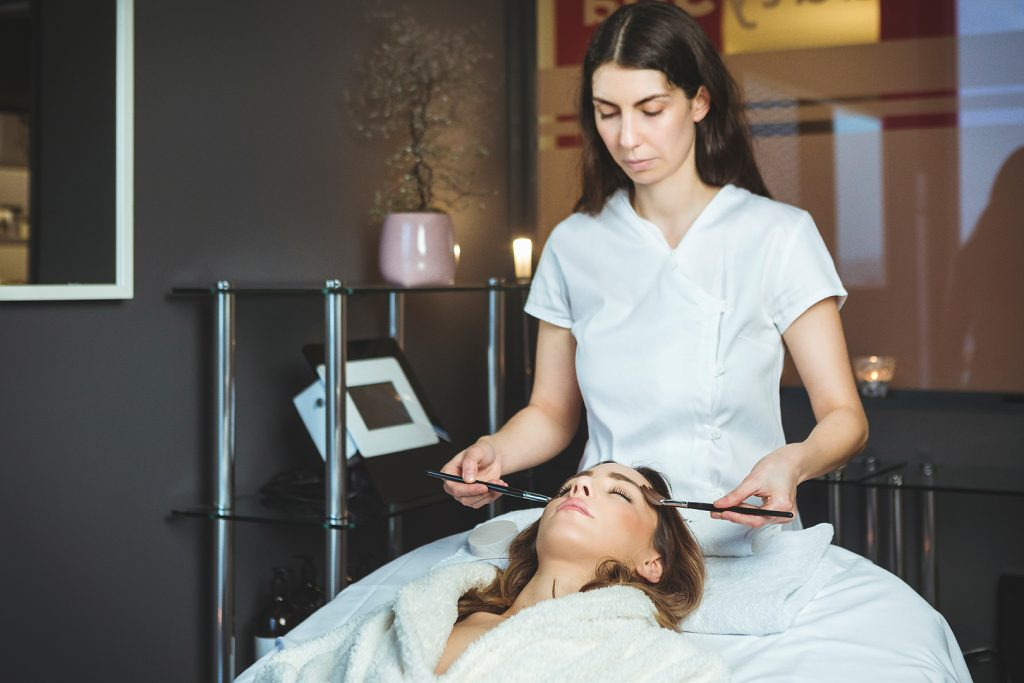 skincare treatment in the BeautySpa